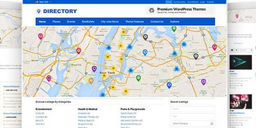 Directory WordPress Theme review