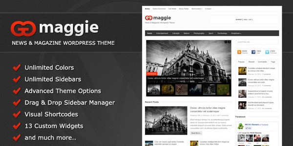 Maggie WordPress Theme Review