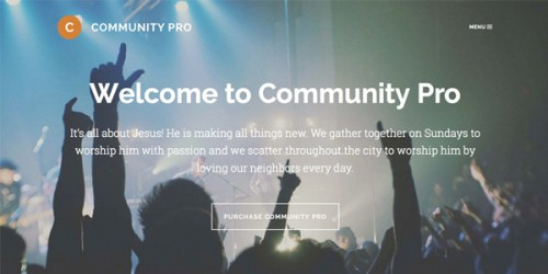Community Pro Theme