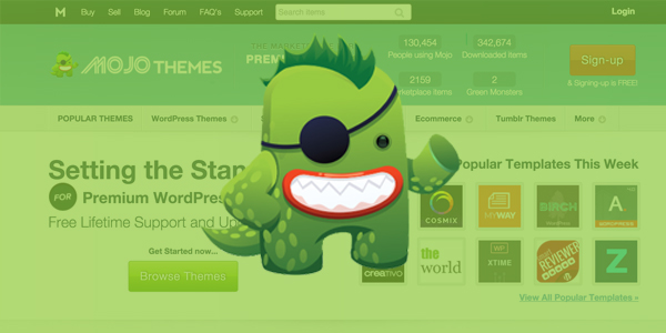 Mojo themes wordpress marketplace review