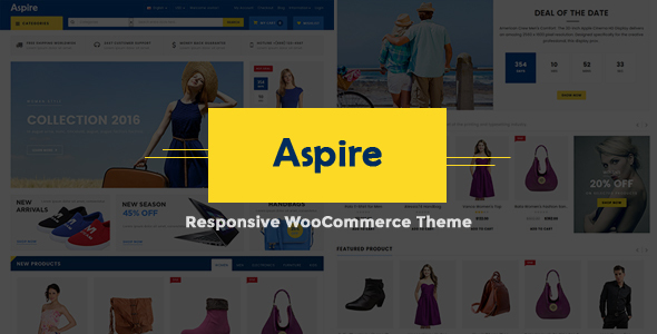 Aspire WordPress theme review